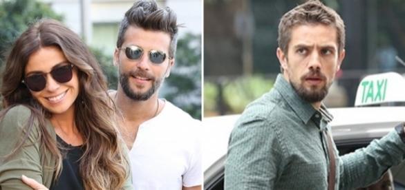 Alice, Mario e Cesar em 'Sol Nascente' (Divulgação/Globo)