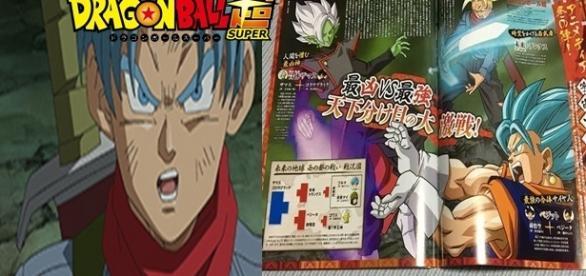 Dragon Ball Super 66 : Vegetto vs Zamasu , Dragon Ball Super 67 : La gran ayuda de Trunks