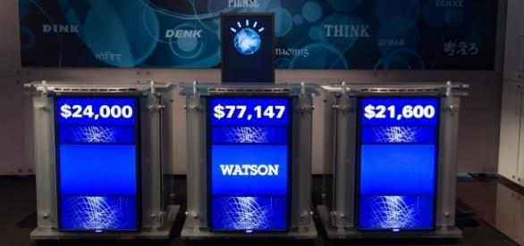 "IBM's Watson computer beat two ""Jeopardy"" contestants in 2011. (Photo via wikimedia.org)"