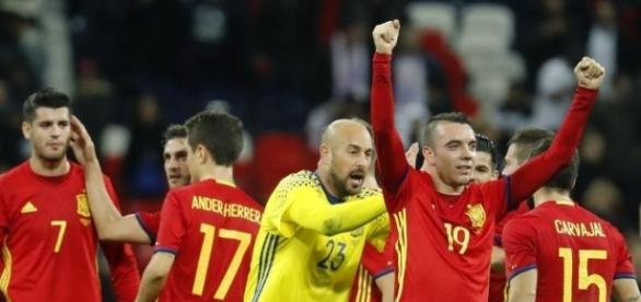 Inglaterra-España: Golazo de Iago Aspas - mundodeportivo.com