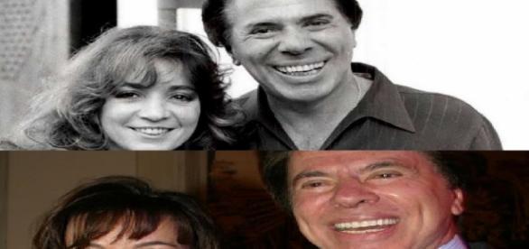 Íris Abravanel e Silvio Santos.