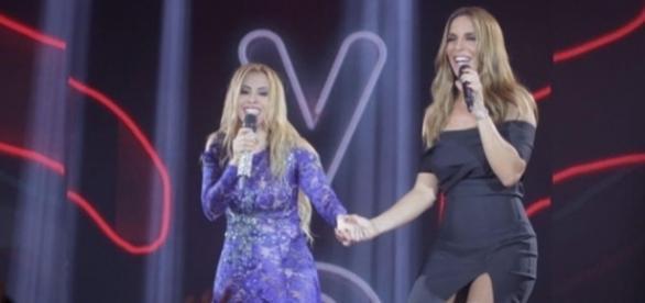 Ivete Sangalo foi uma das convidadas especiais de Joelma