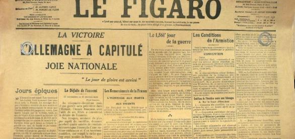 Le Figaro - armistice - CC BY -