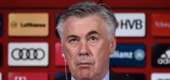 Técnico Carlo Ancelotti, do Bayern de Munique