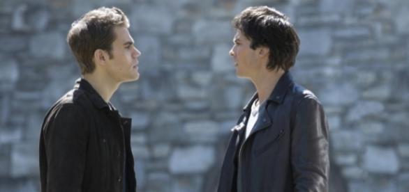 Diários de um Vampire: Stefan e Damon, uma escolha difícil a ser feita