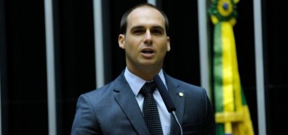 Eduardo Bolsonaro destinou R$800 mil para hospital (Foto: Reprodução)