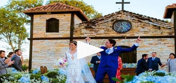 Fotos do casório ostentação de Gianpierro foram parar em redes sociais