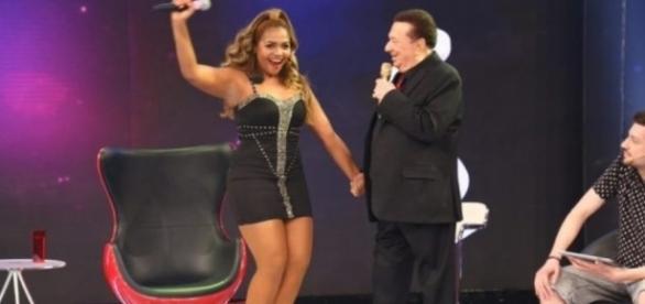 Gabi Amarantos é uma das convidadas do 'Programa Raul Gil'