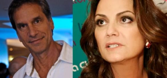 Victor Fasano e Luiza Brunet - Foto divulgação