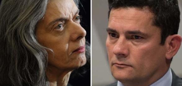 Cármen Lúcia e Sérgio Moro em destaque