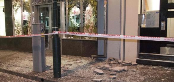 Considerables daños materiales causados por el sismo