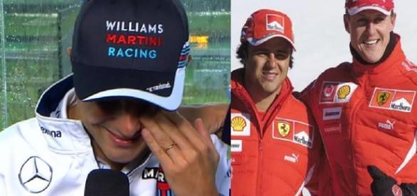 Felipe Massa chora ao vivo e lembra amigo