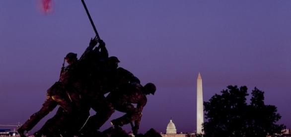 Marine Memorial, Arlington, VA. sourced via creative commons, flickr