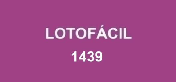 Resultado do sorteio da Lotofácil 1439