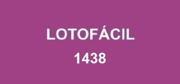 Resultado do sorteio Lotofácil 1438 em 21/11
