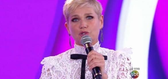 Xuxa Meneghel no Teleton 2015 no SBT