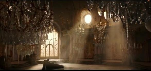 Décor dans la bande-annonce du film La Belle et la Bête