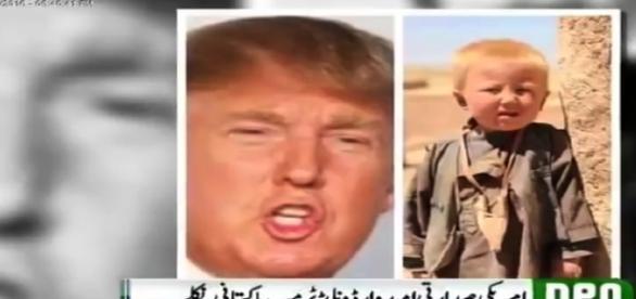 Emissora diz que foto de criança paquistanesa seria Donald Trump (Neo Noticias)