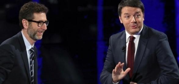 Matteo Renzi ospite a ' Che tempo che fa'