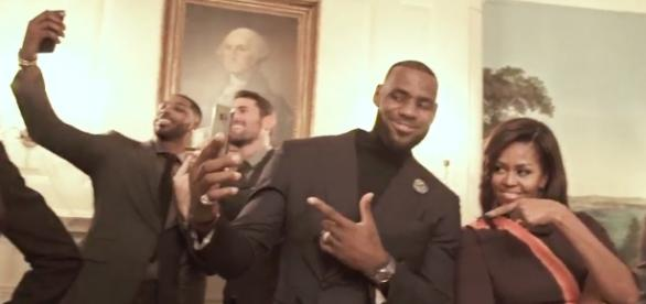 See Cleveland Cavaliers, Michelle Obama Mannequin Challenge ... - rollingstone.com