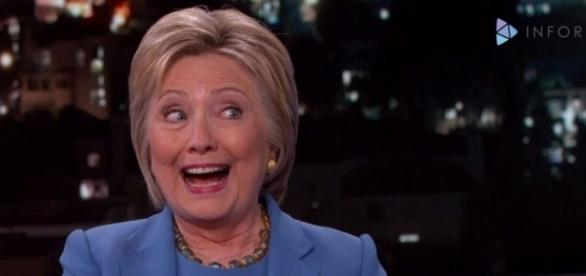 Don't get too excited, Hillary. You haven't won yet.