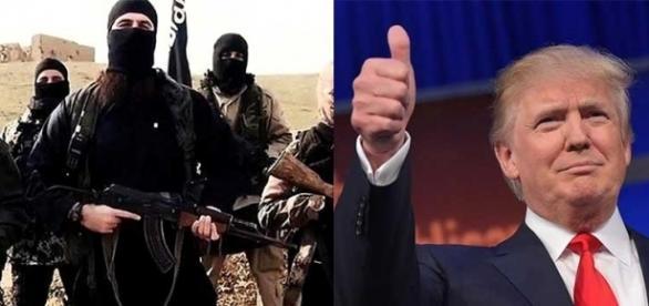 EI diz que aumentará número de combatentes graças a Trump (Foto: Reprodução)