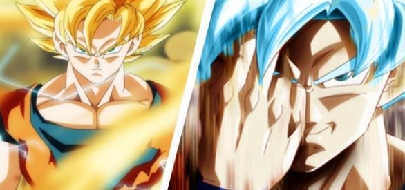 goku y goku azul deviantart dragon ball super