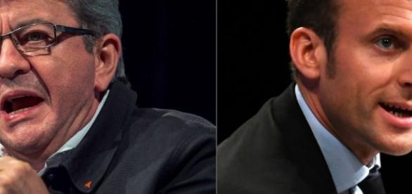 Macron et Mélenchon surclassent Hollande et Valls: la revanche de ... - challenges.fr