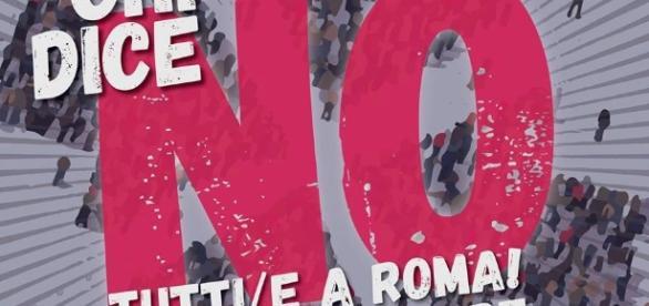 Manifestazione nazionale per il NO al Referendum domenica 27 novembre a Roma