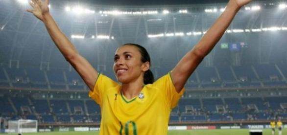 Marta pediu para não jogar o Torneio Internacional por causa do cansaço