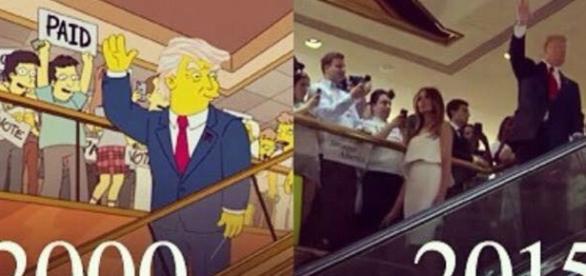Prediccion Los Simpsons D.Trump