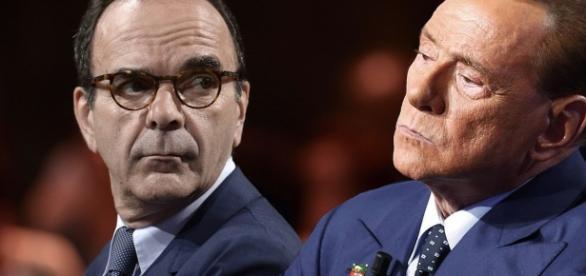 Stefano Parisi e Silvio Berlusconi