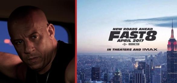 "Vin Diesel revelou o primeiro pôster de ""Velozes e Furiosos 8"""