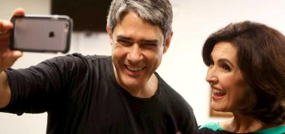 Bonner e Fátima Bernardes anunciaram o divórcio em agosto