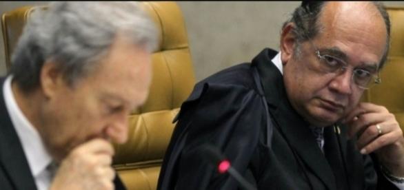 Gilmar Mendes e Lewandowski trocaram farpas