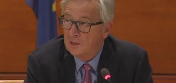 Il presidente della Commissione europea, Jean Claude Juncker