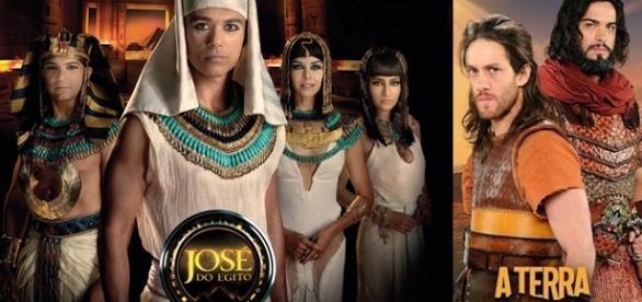 'José do Egito' e 'A Terra Prometida', dois grandes sucesso da Record