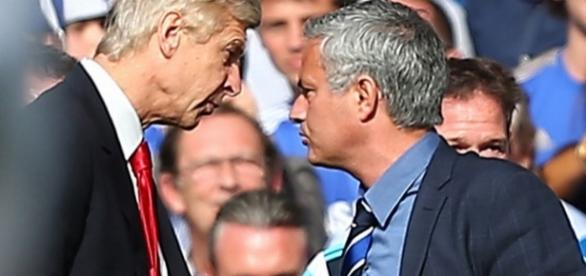 Jose Mourinho aims dig at Arsene Wenger in first Manchester United ... - mirror.co.uk