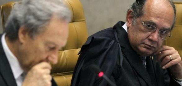 Lewandowski e Gilmar Mendes batem boca durante sessão do Supremo