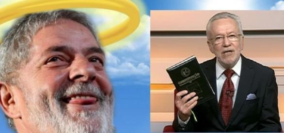 Lula e Alexandre Garcia - Google
