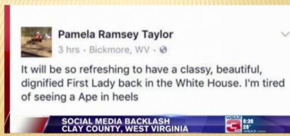 """""""Macaca de salto"""": a postagem racista no Facebook"""