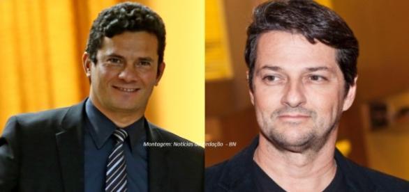 Marcelo Serrado já se encontrou com o juiz Sérgio Moro (Foto: Reprodução)
