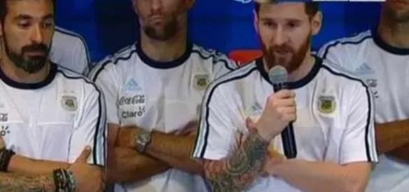Messi e a denúncia da maconha - Google