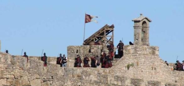 Rodaje en el Castillo de Trujillo. El periódico de Extremadura.