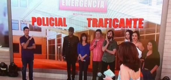 Convidados da Globo escolheram salvar traficantes ao invés de policial