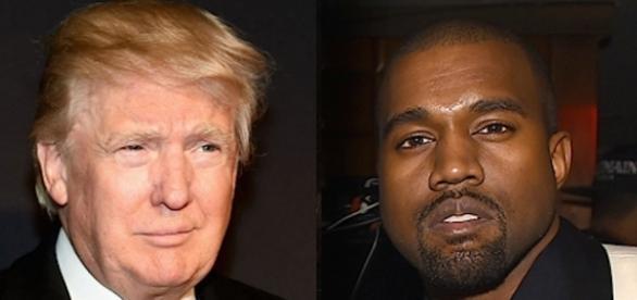 Donald Trump, presidente eletto degli USA e Kanye West.
