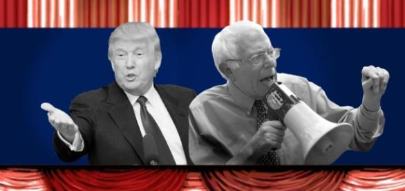 Donald Trump vs. Bernie Sanders: What an extreme match-