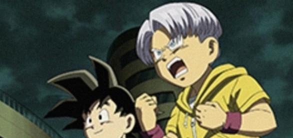 Goten y Trunks en el episodio 68