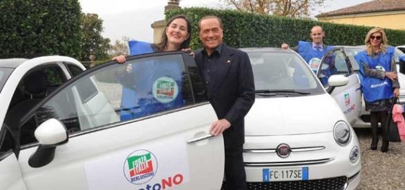 Il capo unico di Forza Italia, Silvio Berlusconi