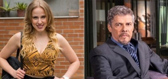 Jéssica e Tião em 'A Lei do Amor' (Divulgação/Globo)